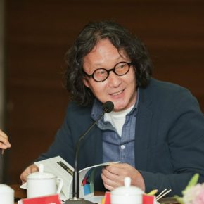 """05 Xu Bing Director of the Academic Committee at CAF 290x290 - Stories of Artistic Growth: """"The Gray Palette: When I Studied at CAFA"""" has been officially published"""