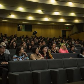 """06 View of the lecture 2 290x290 - Barbara Pollack: """"Post-Passport, Post-Human: New Identities in Contemporary Art"""""""