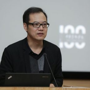 "09 Wang Chunchen the host of the third section of the conference and Deputy Director of the CAFA Art Museum 290x290 - ""Conceptual Lines"" 2018 International Sculpture Conference: Discussing the Times of Conceptual Art in ""Dematerialization"""
