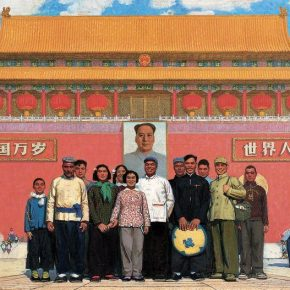 "13 Sun Zixi In Front of Tiananmen Square oil on canvas 153 x 294 cm 1964 in the collection of National Art Museum of China 290x290 - ""Go With the Times: CAFA Centennial Celebration Exhibition"" Kicked Off"