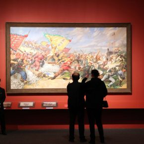 "14 Installation view of the exhibition 1 290x290 - He has never stopped drawing though he has reached old age: ""Dai Ze Art Exhibition"" Debuted at the National Museum of China"