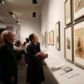 "17 Installation view of the exhibition 290x290 - He has never stopped drawing though he has reached old age: ""Dai Ze Art Exhibition"" Debuted at the National Museum of China"