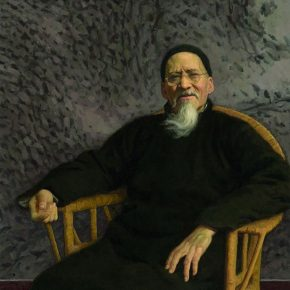"17 Jin Shangyi Huang Binhong in His Later Years oil on canvas 115 x 99 cm 1996 in the collection of CAFA Art Museum 290x290 - ""Go With the Times: CAFA Centennial Celebration Exhibition"" Kicked Off"