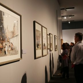 "18 Installation view of the exhibition 290x290 - He has never stopped drawing though he has reached old age: ""Dai Ze Art Exhibition"" Debuted at the National Museum of China"