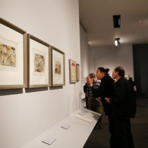 "19 Installation view of the exhibition 290x290 - He has never stopped drawing though he has reached old age: ""Dai Ze Art Exhibition"" Debuted at the National Museum of China"