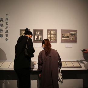 "22 Installation view of the exhibition 290x290 - He has never stopped drawing though he has reached old age: ""Dai Ze Art Exhibition"" Debuted at the National Museum of China"