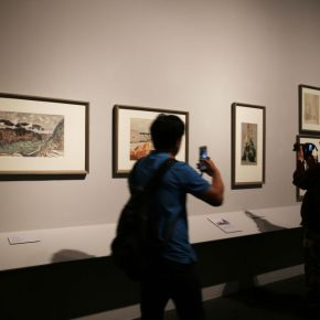 "24 Installation view of the exhibition 290x290 - He has never stopped drawing though he has reached old age: ""Dai Ze Art Exhibition"" Debuted at the National Museum of China"