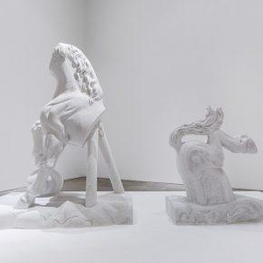 "Dong Jinling Solo Show 2018 Installation Shot de Sarthe Gallery 05 290x290 - de Sarthe Gallery presents Dong Jinling: ""The Purity Of A Horse"""