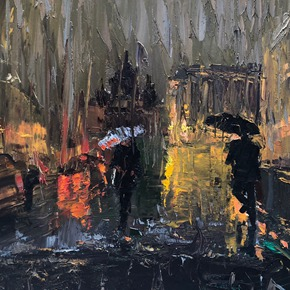 IMPRESSION· IN THE RAIN: Ting Zhou Solo Exhibition will be presented at AVA Gallery & Art Center