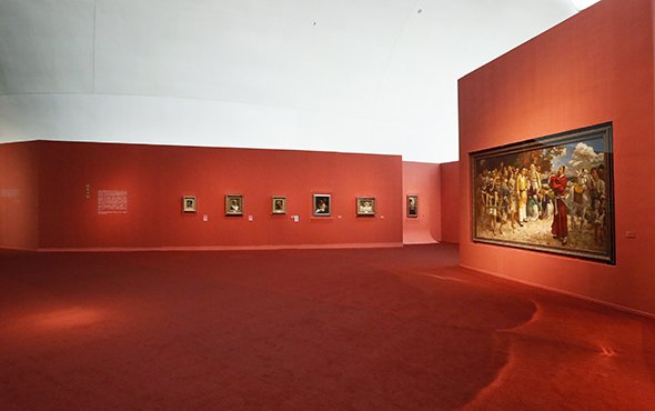 "00 Exhibition view of ""Xu Beihong – Living Art Forever"" - A Review of the Contemporary Meaning of Realism Started with ""Xu Beihong – Living Art Forever"""