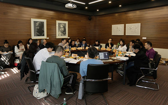 "00 featured image of the symposium - The Symposium on ""From West to East: Visions and Methods of Chinese and Western Art Criticism in the 20th Century"" was held at CAFA"