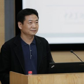 01 Zhang Zikang Director of the CAFA Art Museum who served as the host of the lecture 290x290 - Art and Architecture in the eyes of experts from China and the United States