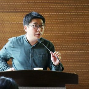 02 Director of Department of Teaching at the School of Graduate CAFA Ge Yujun hosted the lecture 290x290 - Su Xinping: My Creative Process and Artistic Method