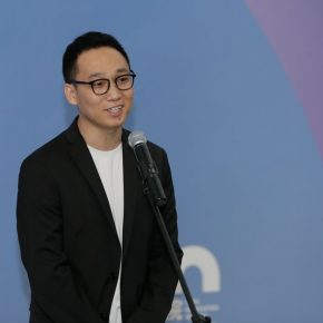 03 A graduate from the School of Chinese Painting Wang Xiangjie delivered a speech 290x290 - CAFA's Graduate Education that looks back over the last 40 Years: 2018 CAFA Graduate Students' Graduation Artwork Exhibition has been unveiled