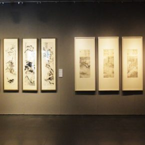 04 Installation view of the exhibition 290x290 - Tasteful Leisure among Flowers – Contemporary Chinese Bird-and-Flower Painting Exhibition