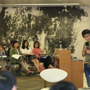 06 Gao Ming Doctoral Candidate at Peking University 290x290 - Words and Images: OCAT Institute, First Session of W.J.T. Mitchell Workshop Launched