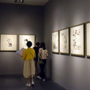 06 Installation view of the exhibition 290x290 - Tasteful Leisure among Flowers – Contemporary Chinese Bird-and-Flower Painting Exhibition