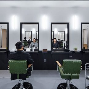 """07 Leandro Erlich Hair Salon 2018 Mixed media Variable Photo by Hasegawa Kenta 290x290 - HOW Art Museum presents """"Construction of Reality"""" featuring work by Argentine artist Leandro Erlich"""