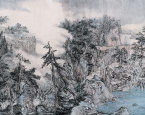 """09 Qiu Ting Shuiquan Courtyard 290x230 - An Artistic Time Travel: Conversations on """"From the Canglang Pavilion"""" by Wu Hongliang, Qiu Ting, and Zhu Qiang"""