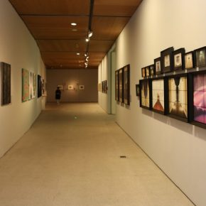 10 Installation view of the exhibition 1 290x290 - CAFA's Graduate Education that looks back over the last 40 Years: 2018 CAFA Graduate Students' Graduation Artwork Exhibition has been unveiled