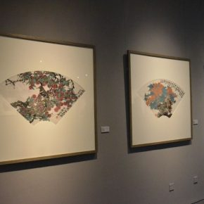 11 Installation view of the exhibition 290x290 - Tasteful Leisure among Flowers – Contemporary Chinese Bird-and-Flower Painting Exhibition