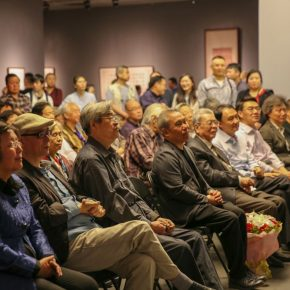"11 View of the opening ceremony 290x290 - ""Searching for Treasures from History – Art Historian Li Song's Scholarships and Collections"" was launched"