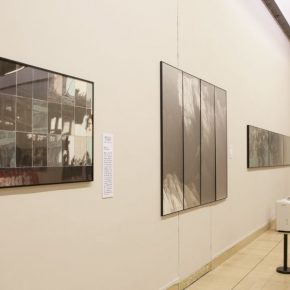 "14 Installation view of the exhibition 3 290x290 - Urban Landscapes Presented in Ink Paintings: ""Ink Art – Wong Hau Kwei"" Debuted at the National Art Museum of China"