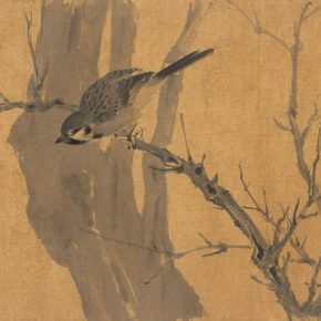 15 Lian Junzhou Pursuit of the Style of Song Dynasty No.5 32 x 44 cm ink and wash on paper 2017 290x290 - Tasteful Leisure among Flowers – Contemporary Chinese Bird-and-Flower Painting Exhibition