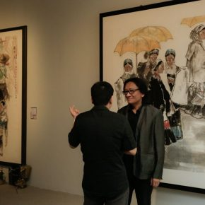 18 Installation view of the exhibition 290x290 - CAFA's Graduate Education that looks back over the last 40 Years: 2018 CAFA Graduate Students' Graduation Artwork Exhibition has been unveiled