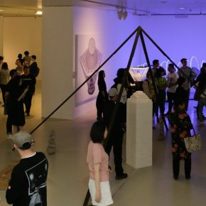 21 Installation view of the exhibition 290x290 - CAFA's Graduate Education that looks back over the last 40 Years: 2018 CAFA Graduate Students' Graduation Artwork Exhibition has been unveiled