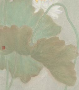 26 e Peng Badashanren's Quotation No.1 ink and color on paper 137x 34 cm 2018 254x290 - Tasteful Leisure among Flowers – Contemporary Chinese Bird-and-Flower Painting Exhibition
