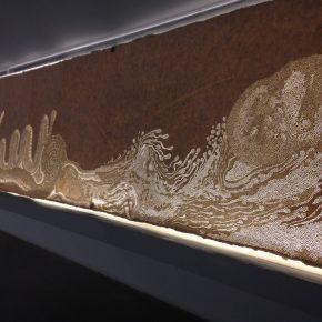 Fu Xiaotong Land of Serenity 2015 Handmade ricepaper 400x41cm 290x290 - Fu Xiaotong