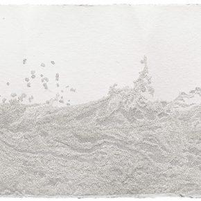 Fu Xiaotong Water No. 4 2015 Handmade ricepaper 116x41cm 290x290 - Fu Xiaotong