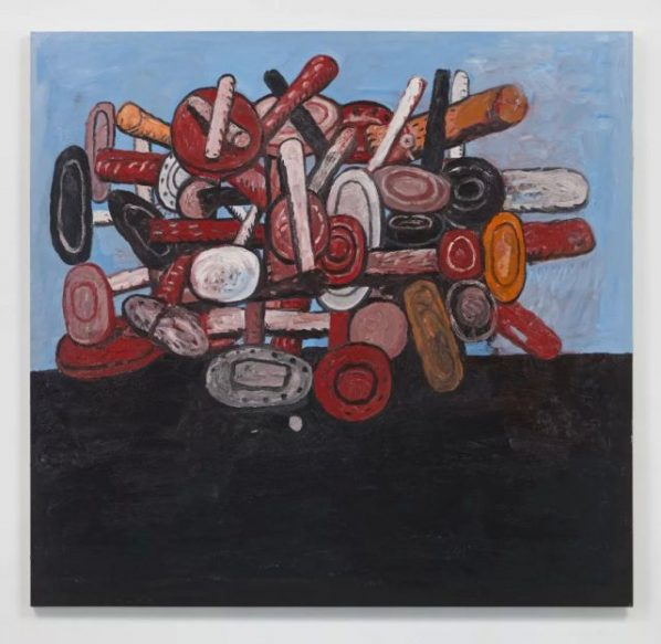 "Philip Guston Untitled 1979 Painting 175.3x182.9cm 598x583 - Hauser & Wirth presents ""Philip Guston: A Painter's Forms, 1950 – 1979"" in Hong Kong"