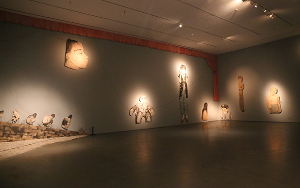 """00 featured image of """"INTO ASHES Liu Qinghe Solo Exhibition"""" - Combined with Light, """"Into Ashes"""" While Spreading Thoughts: Liu Qinghe's New Ink and Wash Narrative"""