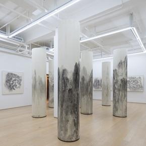 "Hanart TZ Gallery presents Xu Longsen's latest solo exhibition ""Mountains in the Clouds"" in Hong Kong"