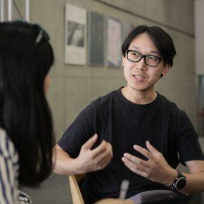 03 Wang Jie was interviewed 290x290 - Wang Jie & Chen Weiping: Designers of the CAFA Centennial Celebration Logo