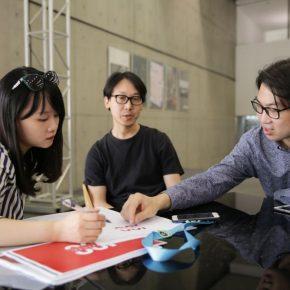 04 Interview Scene 290x290 - Wang Jie & Chen Weiping: Designers of the CAFA Centennial Celebration Logo