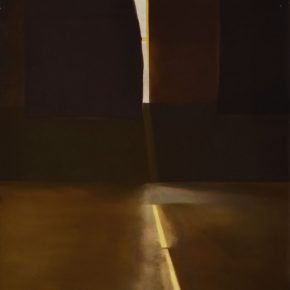 05 Wang Guangle Afternoon 3 – 5 pm No. 4 2000 Oil on canvas 160x70cm 290x290 - Wang Guangle: Unexamined Life Is Not Worth Living