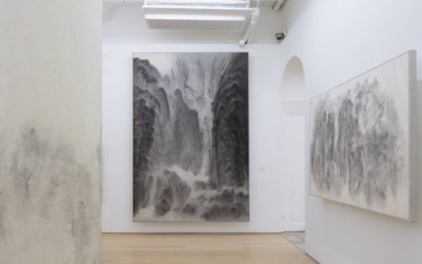 "07 Installation View of Xu Longsen Mountains in the Clouds Photo by Kitmin Lee 598x374 - Hanart TZ Gallery presents Xu Longsen's latest solo exhibition ""Mountains in the Clouds"" in Hong Kong"