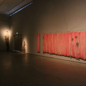 """12 Exhibition View of""""INTO ASHES Liu Qinghe Solo Exhibition"""" 290x290 - Combined with Light, """"Into Ashes"""" While Spreading Thoughts: Liu Qinghe's New Ink and Wash Narrative"""