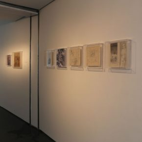 """21 Exhibition View of""""INTO ASHES Liu Qinghe Solo Exhibition"""" 290x290 - Combined with Light, """"Into Ashes"""" While Spreading Thoughts: Liu Qinghe's New Ink and Wash Narrative"""