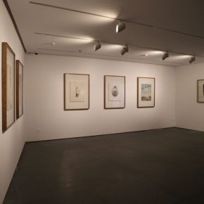 """24 Exhibition View of""""INTO ASHES Liu Qinghe Solo Exhibition"""" 290x290 - Combined with Light, """"Into Ashes"""" While Spreading Thoughts: Liu Qinghe's New Ink and Wash Narrative"""