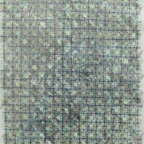 """27 Appearance of Crosses Ding Yi color pencil on handmade paper 42.5X31CM 2016 1 290x290 - Contemporary Art Exhibition of China """"Splendors of the sun and moon"""" made its debut in Venice"""