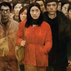 "He Duoling Ai Xuan 1984 Oil on canvas 180x190cm 290x290 - Long Museum (West Bund) announces ""Turning Point – 40 Years of Chinese Contemporary Art"" opening June 16 in Shanghai"