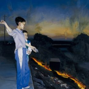 "Liu Xiaodong Fire at Dusk 1998 290x290 - Long Museum (West Bund) announces ""Turning Point – 40 Years of Chinese Contemporary Art"" opening June 16 in Shanghai"