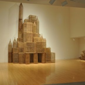 "Sopheap Pich Compound 2011 bamboo rattan plywood and metal wire 290x290 - M+ announces ""In Search of Southeast Asia"" featuring the M+ Collection"