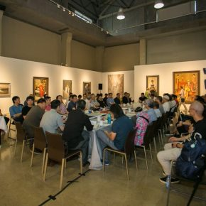 "03 View of the symposium 290x290 - The Symposium on the 4th Chinese Oil Painting Exhibition: ""Chinese Spirit: Chinese Oil Painting and Contemporary Society"""