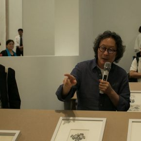 "05 Artist Xu Bing introduced his works 290x290 - Xu Bing: Constructing a Closed ""Circle"""