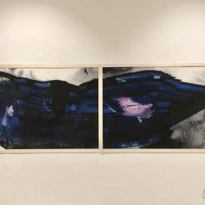 07 Exhibition View of Just Now 290x290 - Just Now—Contemporary Images and Ink Painting Conception: Cai Guangbin Solo Exhibition was successfully unveiled in Venice